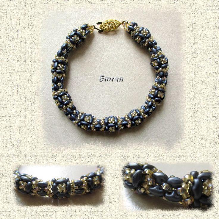 "Bracelet inspiration spirale ""Lisa"""