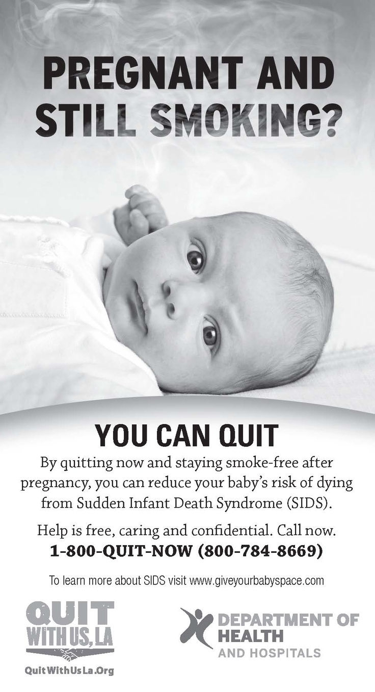 Smoking and Sudden Infant Death Syndrome - Canadaca