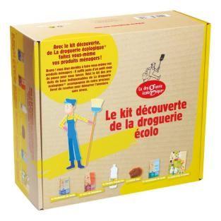 La Droguerie écologique - Coffret Kit Découverte Droguerie écologique