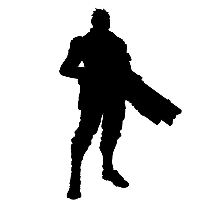 Image Result For Fortnite Character Silhouette Character