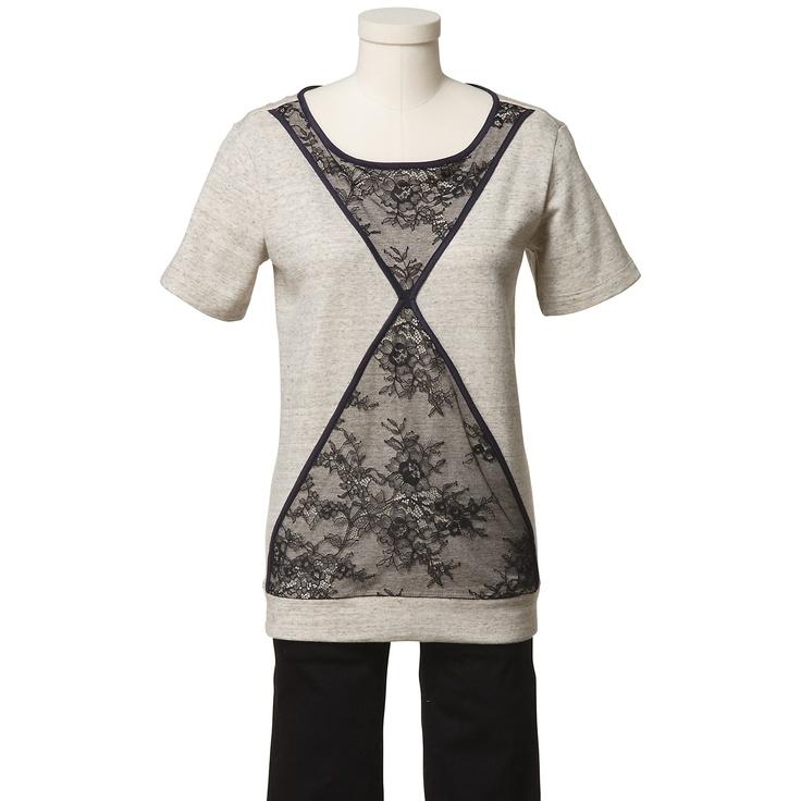 Tibi Quixote Lace Short Sleeve Sweatshirt - eBay Holiday CollectiveHoliday Collection, Tibi Quixote, Ebayholiday Ebayfashion, Quixote Lace, Shorts Sleeve, Ebay Holiday, Lace Shorts, Sweatshirts Ebayholiday, Sleeve Sweatshirts