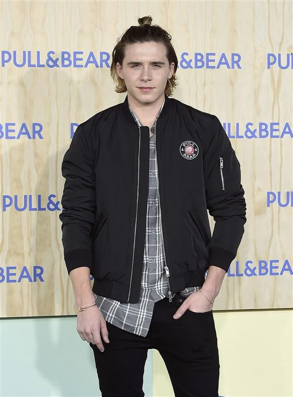 Brooklyn Beckham, born in 1999 Oh, how time flies! We remember when Brooklyn Beckham was just a tiny little thing catching a ride on his famous father's well-shaped shoulders. Now look at him. He's tall, handsome and he even has a Hollywood relationship under his belt! The eldest of David and Victoria's four children gets photographed by paparazzi as often as his famous parents David Beckham and Victoria Beckham nowadays, especially in the wake of his split from girlfriend Chloe Grace…