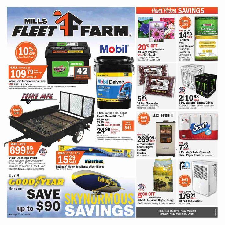 Fleet Farm Weekly Circular March 9 - 16, 2018 - http://www.olcatalog.com/fleet-farm/fleet-farm-weekly-circular.html