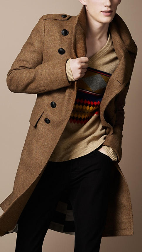 BURBERRY - MELTON MILITARY GREAT COAT