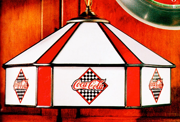 17 Best Images About Coca Cola Lamps On Pinterest Glass