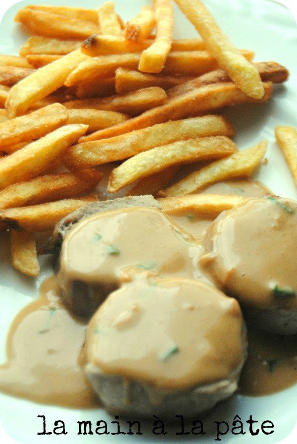 Médaillons de filet mignon de porc sauce Satay