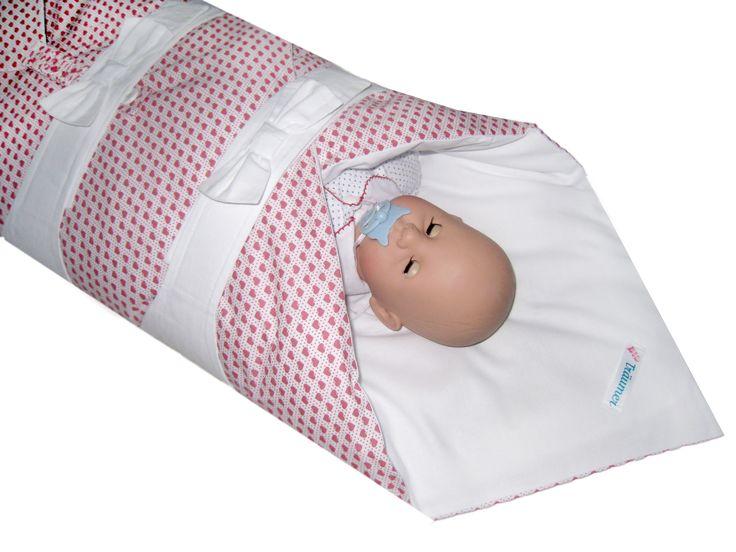 Pucksack, Babyschlafsack, kein Herausrutschen der Ärmchen mehr, Sommer- und Winterschlafsack in Einem, passt vom 1. bis zum 9. Lebensmonat, Einziehdecke separat verwendbar