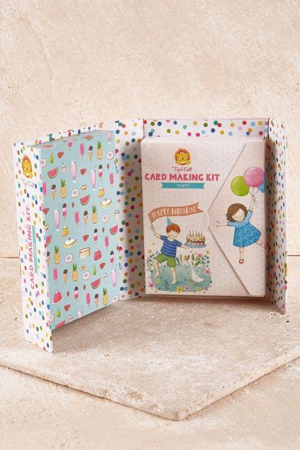 TIGER TRIBE - Card Making Kit Party Set