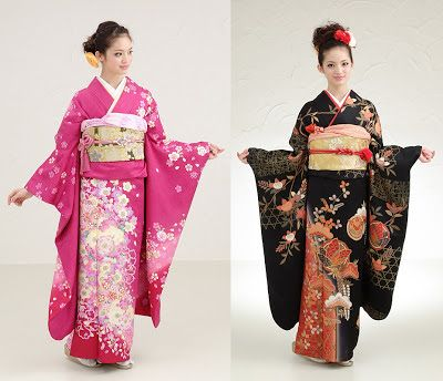 Hanami: Types of Kimono - Furisode