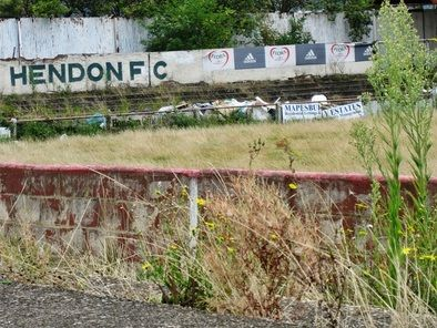 Ah, Hendon FC. I liked this ground actually!