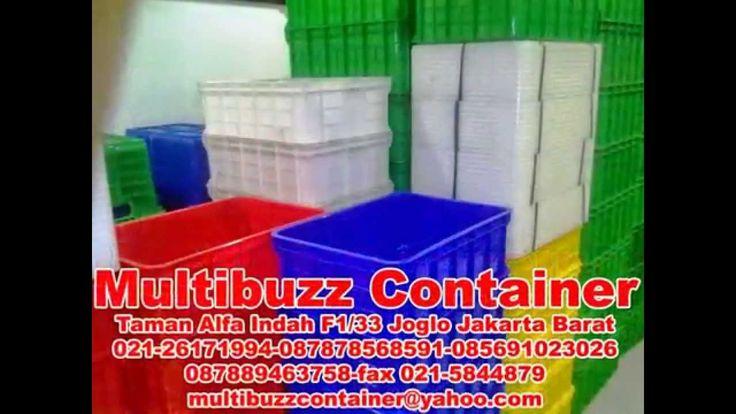 container padat  pakai tutup aneka warna warni