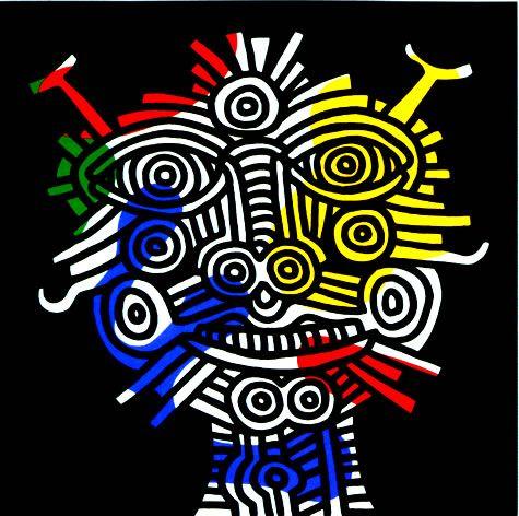 Keith Haring Bed Sheets