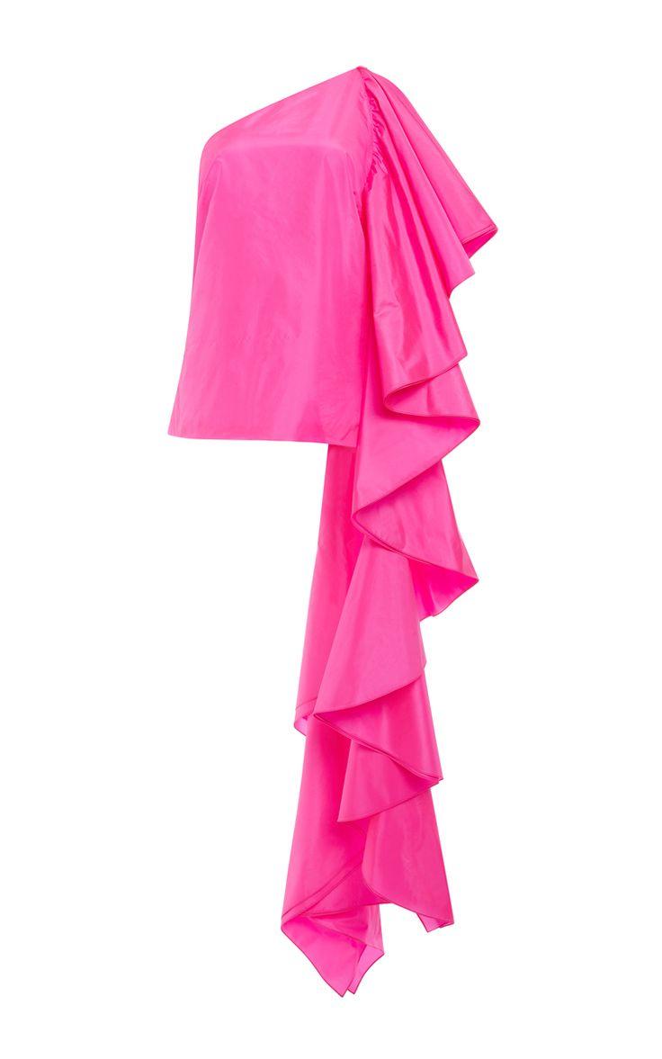 Parachute Taffeta Sir Hangs-A-Lot Top - Rosie Assoulin Resort 2016 - Preorder now on Moda Operandi