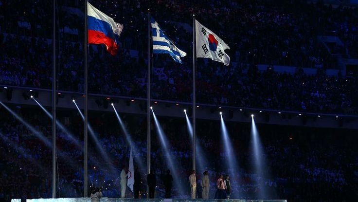 The flag handover ceremony initiates the transfer of host duties to Pyeongchang, South Korea, the site for the 2018 Winter Olympic Games