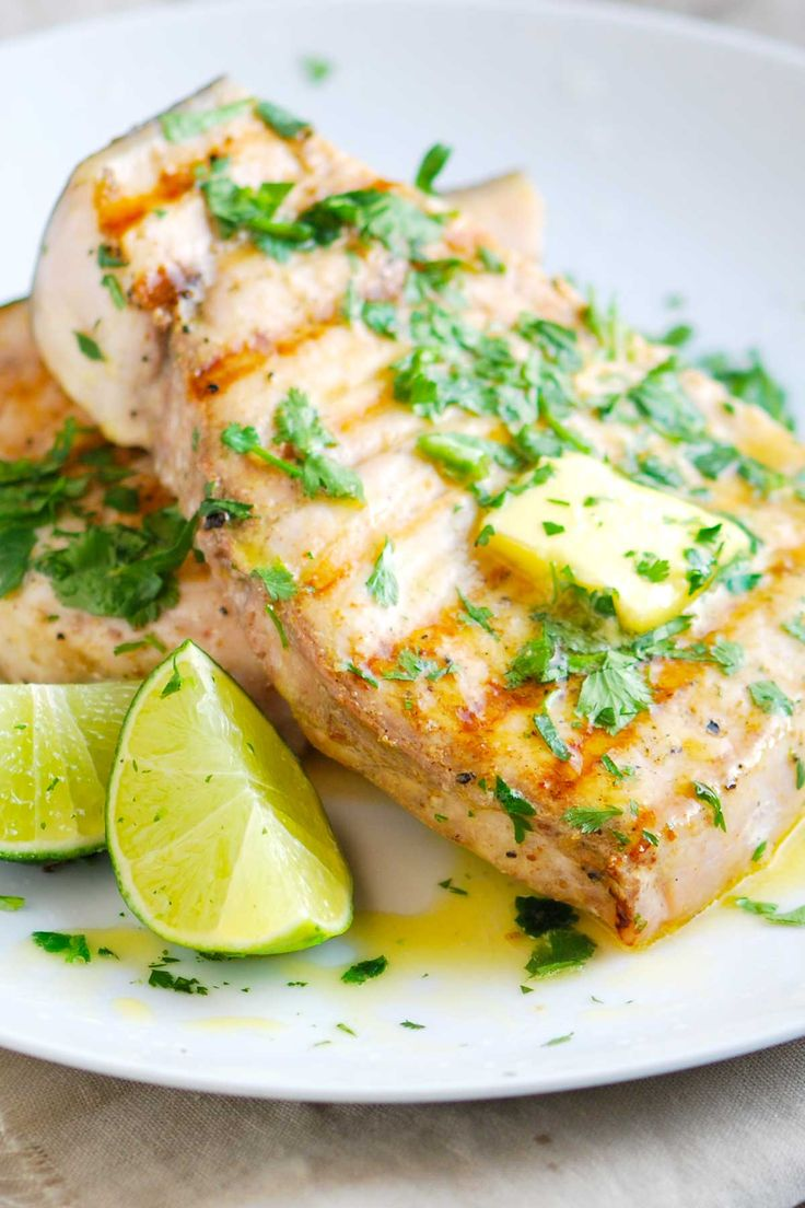 Grilled Swordfish Recipe with Coriander and Lime