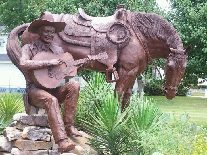 Tex Ritter ~ Texas Country Music Hall of Fame in Carthage