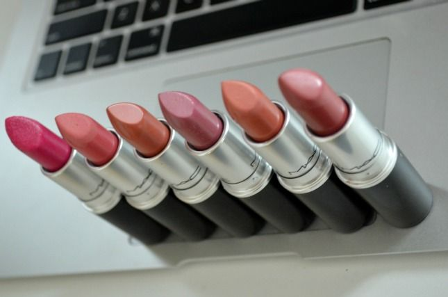 My favorite M.A.C lipsticks ❤