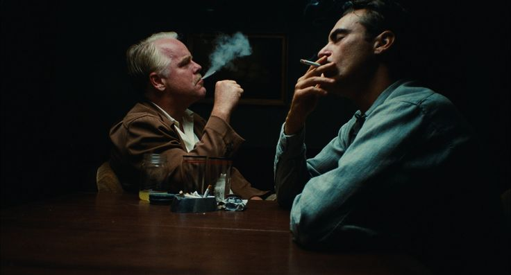 Phillip Seymour Hoffman and Joaquin Phoenix in The Master (Paul Thomas Anderson, 2012)