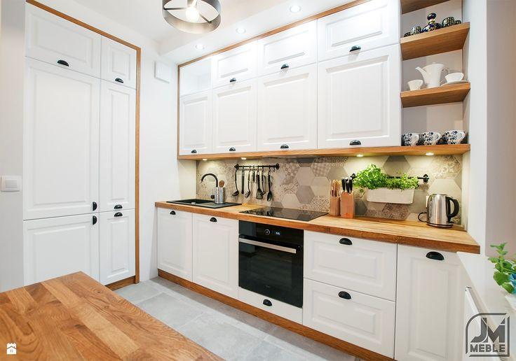 Kuchnia styl Skandynawski - zdjęcie od jm-meble - Kuchnia - Styl Skandynawski - jm-meble