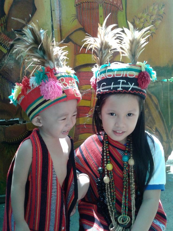My Kids Wearing Igorot Costumes In Baguio City Kids Wear
