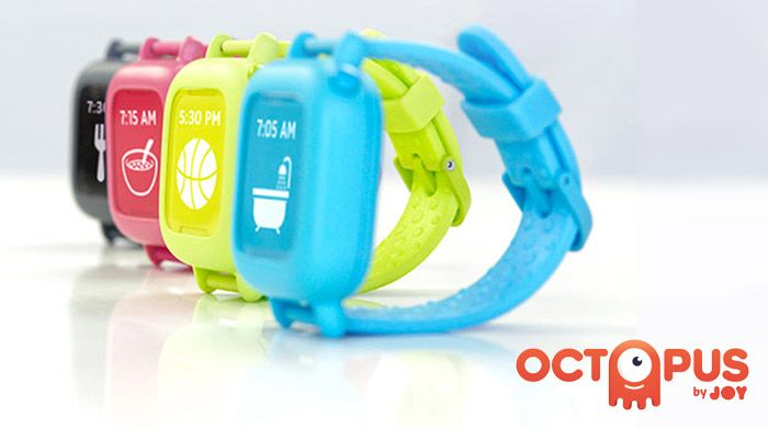 "Meet the Octopus by JOY, the ""smartwatch"" for kids!"