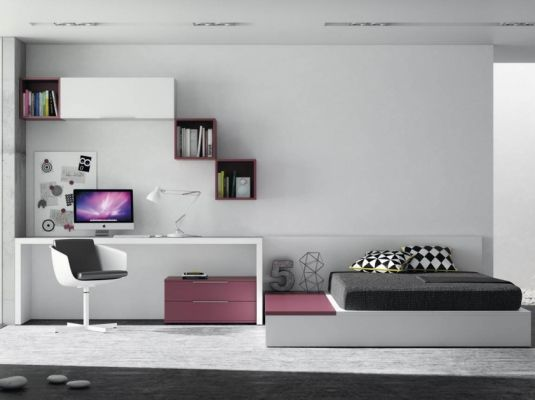 71 best dormitorio adolescente hombre images on pinterest for Recamaras juveniles modernas