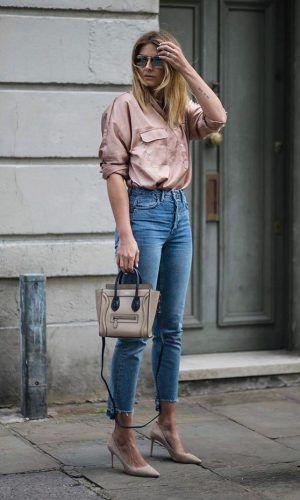 Camisa e Jeans Skinny: uma Combinação que Funciona | Roupas