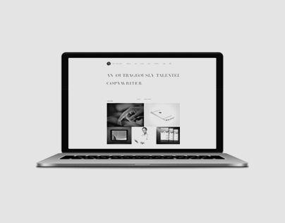 다음 @Behance 프로젝트 확인: \u201cPortfolio Site - Web Design & Copywriting\u201d https://www.behance.net/gallery/19725647/Portfolio-Site-Web-Design-Copywriting