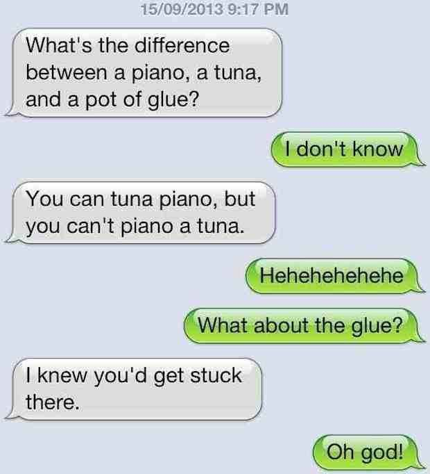 The Tuna Joke: | The 25 Absolute Greatest Dad Jokes Of All Time