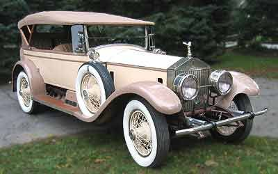 A 1924 Rolls Royce Silver Ghost Springfield Sports Touring Phaeton