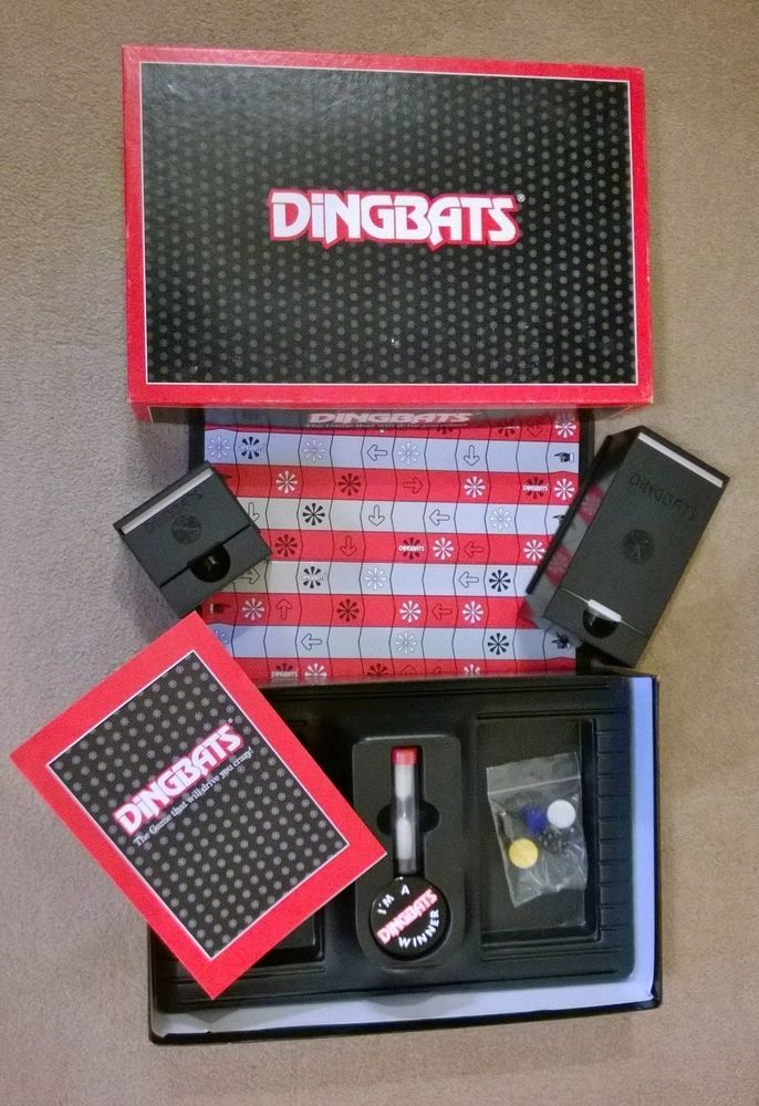 Dingbats Waddingtons Board Game 1987 Complete and in good condition