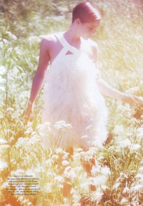 photographer: Alexi Lubomirski  Emma Watson