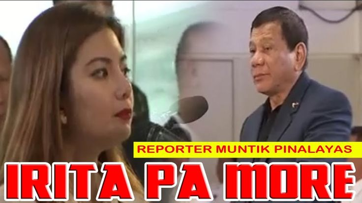 SOBRANG KAHIHIYAN! Reporter ng ABS-CBN Muntik Palayasin ng Nairita si Duterte - WATCH VIDEO HERE -> http://philippinesonline.info/trending-video/sobrang-kahihiyan-reporter-ng-abs-cbn-muntik-palayasin-ng-nairita-si-duterte/