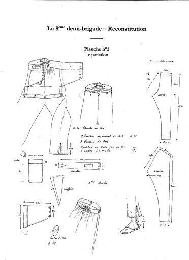 Pantaloni 1800
