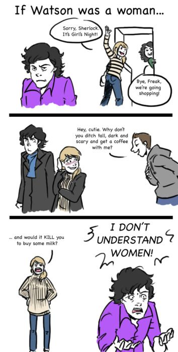 This is why John is not a girl. *cough* elementary *cough*