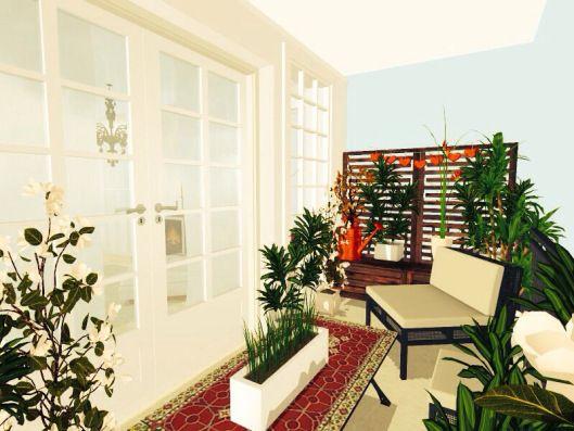 3d floor plans - konstadina nastou decorator-Greece-http://kinteriorsblog.wordpress.com/ #floorplans #roomsketcher #balcony #plants #home