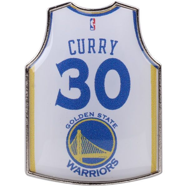 Stephen Curry Golden State Warriors Home Player Jersey Pin - $6.99