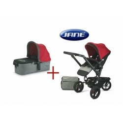 The Jane Trider #Pram and Micro Carrycot package also includes the raincover, Nappy Bag and Foot muff. The Jane Trider lets parents enjoy trips out with complete freedom. with a light weight minimalist style but all the benefits of an extreme all-terrain design.