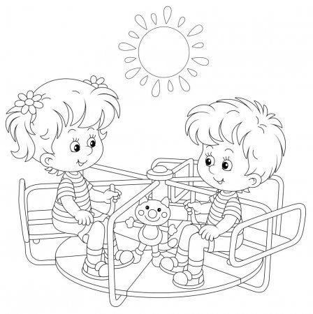 Na Mesma Serie Com 42127197 Goodbye Kindergarten Coloring Books Cute Coloring Pages How To Make Drawing
