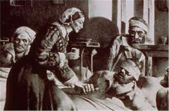 """Modern hemşireliğin kurucusu olan Florence Nightingale, """"Ben hasta bakıcı olmak istiyorum. Kimsesi olmayan insanların, kimsesi olmak istiyorum."""" diyerek ailesinin karşı çıkmasını rağmen idealleri uğruna evini terk etmiştir. Ayrıca 1854 yılında Üsküdar'daki Selimiye Kışlası'nda, Kırım Savaşı sırasında yaralanan İngiliz askerlerinin tedavi ve bakımını yapmıştır."""