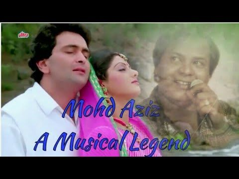 Mohd Aziz~A Tribute To Musical Legend~Aaj Kal Yaad Kuchh