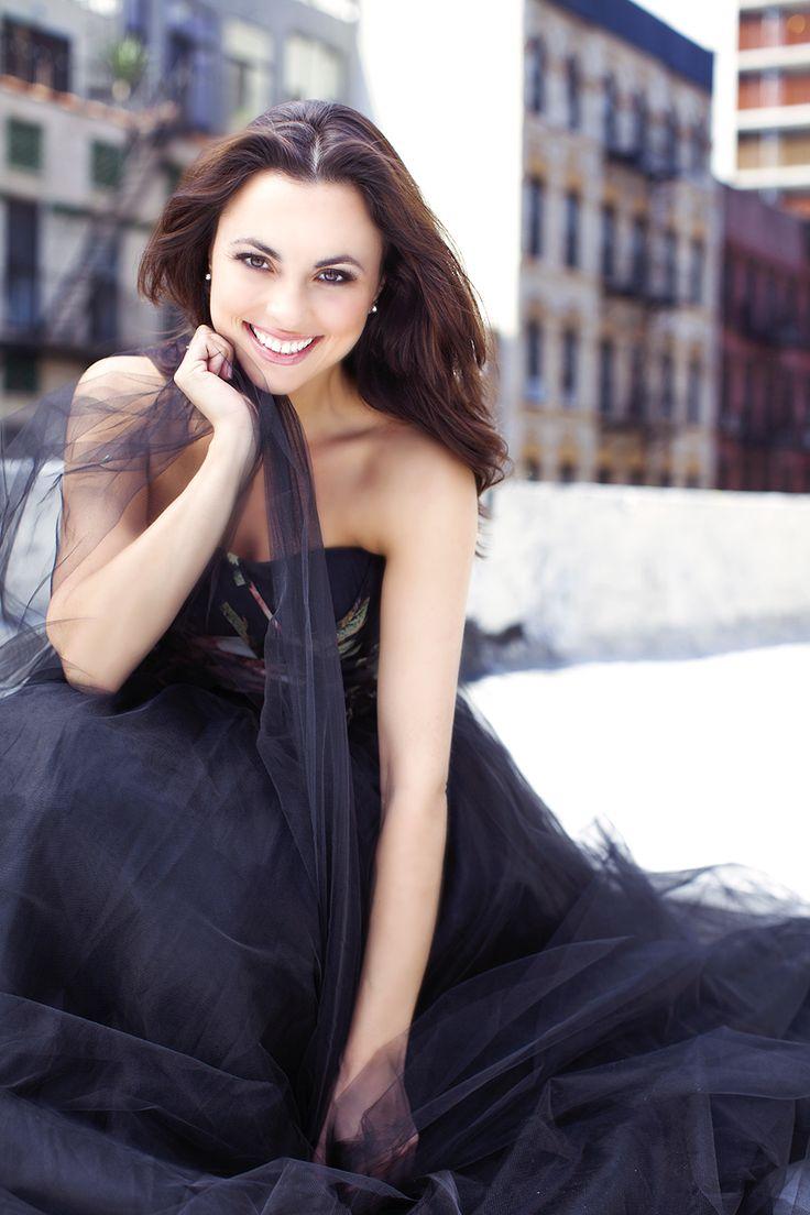 Celebrity female headshots smiling