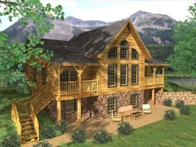 1000 Ideas About Log Homes On Pinterest Cabin Log