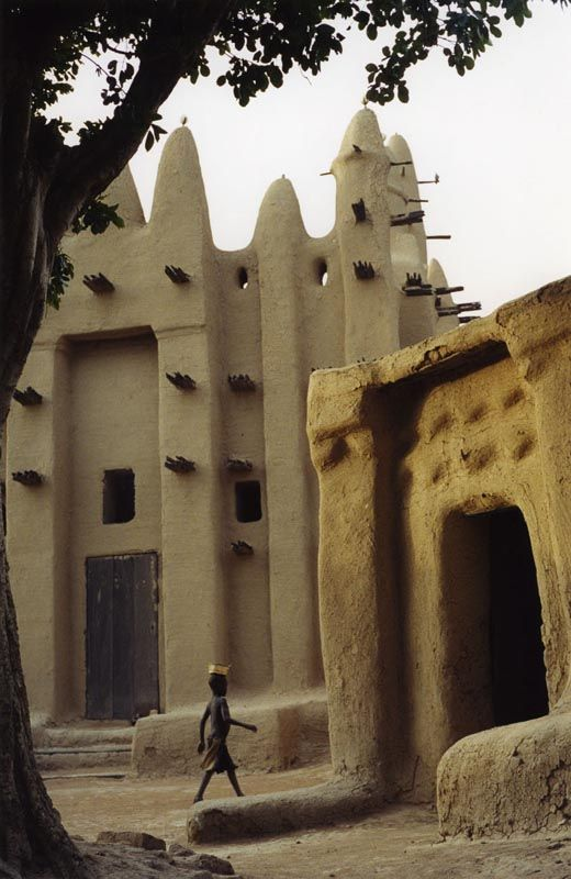 Most of Mali's population farmed poor soils with primitive technology tackled many problems and supported themselves and imperial states.