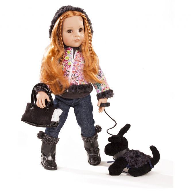 Panenka Hannah a její pes