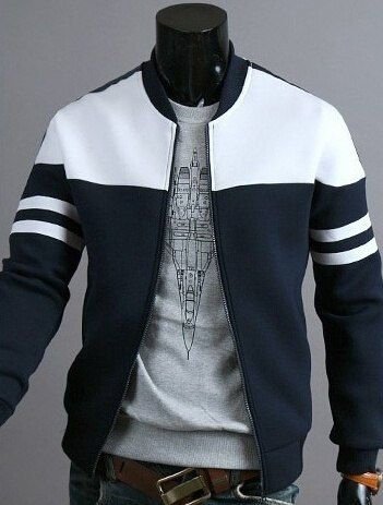 b2803d089e2 Jamickiki Autumn Men Fashion Hoodies Sweatshirts Long Sleeve Zipper Jacket