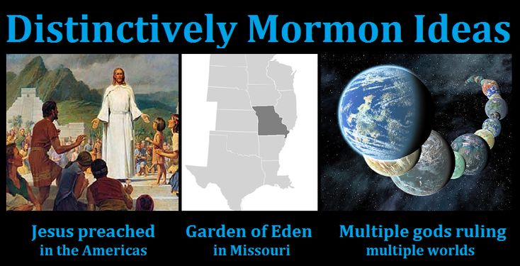 Image result for list of distinctively mormon doctrines