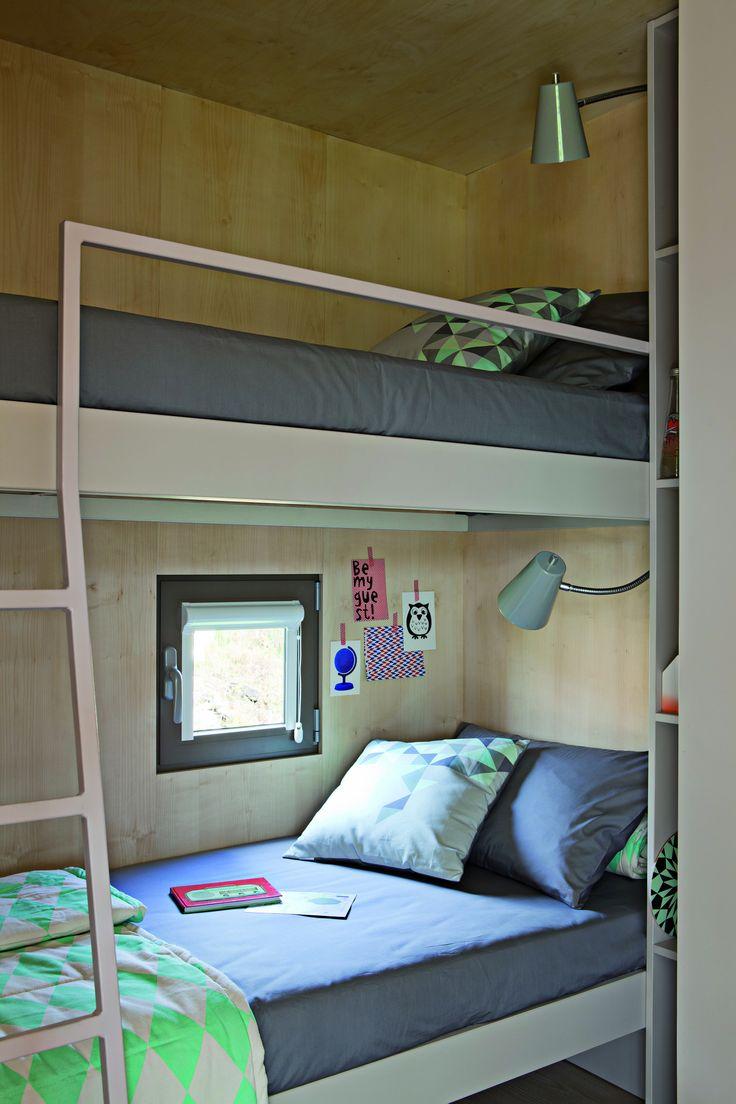 Big Berry mobile house interior