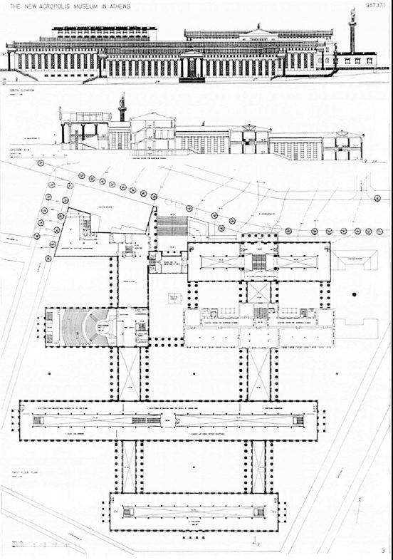 Acropolis Section Google Search Studio Drawing Fa16