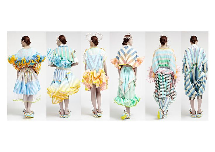 Joyce Wong — BA (Hons) Fashion Design Technology: Womenswear Line Up/back 2013